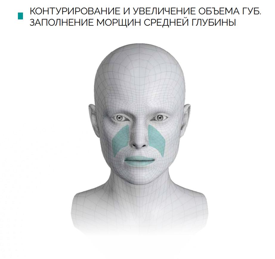Контурная пластика филлер в Киеве Гиалуаль Hialual студия красоты Пастура 5